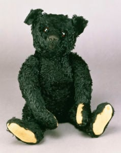 Black Teddy Bear (Titanic mourning) by Christie's Images