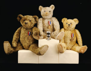 Olympic Teddy Bears by Christie's Images