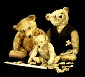 Puzzled Teddy Bears by Christie's Images
