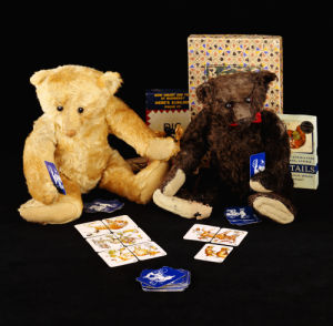 Teddy Bears Playing Games by Christie's Images