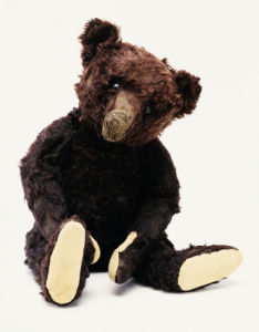 Mr Teddy Bear Black by Christie's Images