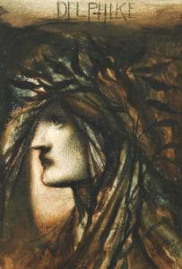 Delphike, 1896 by Simeon Solomon