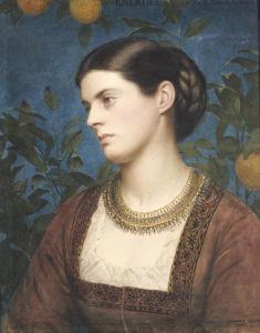 Katrine, Countess Cowper, 1875 by Edward Clifford