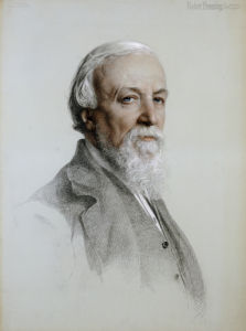 Portrait Of Robert Browning (1812-1889), 1881 by Anthony Frederick Augustus Sandys