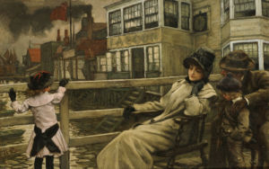 Waiting For The Ferry, C. 1878 by James Jacques Joseph Tissot