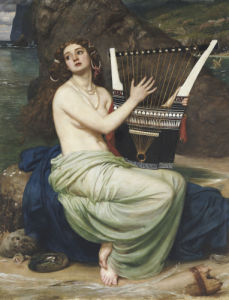 The Siren, 1864 by Sir Edward John Poynter
