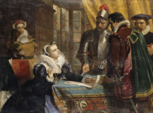 The Forced Abdication Of Mary, Queen Of Scots (1542- 1587) by Charles Lucy
