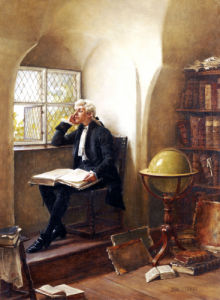 The Young Academic by John Arthur Lomax