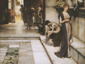 An Apodyterium by Sir Lawrence Alma-Tadema
