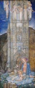 The Gothic Tower by Edward Reginald Frampton