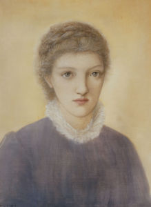 Portrait Of Frances Graham, 1879 by Sir Edward Burne-Jones