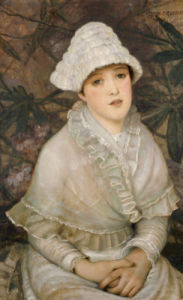 My Wee White Rose, 1882 by John Atkinson Grimshaw