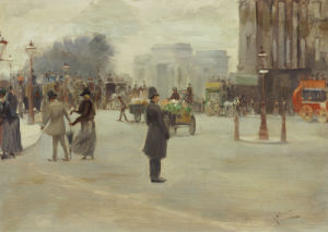 Hyde Park Corner by Albert Ludovici