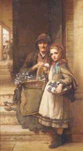At The Market-Gate, Covent Garden, 1880 by William Robert Symonds