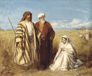 Boaz And Ruth by John Faed