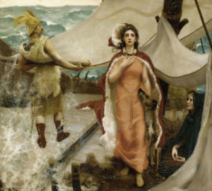Queen Iseult, 1891 by William Stott Of Oldham