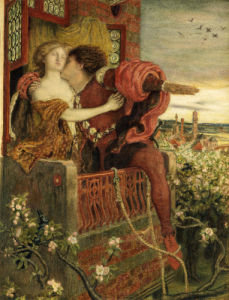 Romeo And Juliet, 1868 by Ford Madox Brown