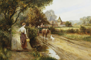An Encounter On The Road by Ernest Walbourne