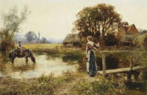 Evening by John Henry Yeend King