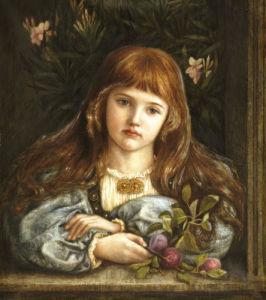 La Pensierosa, 1879 by Marie Stillman