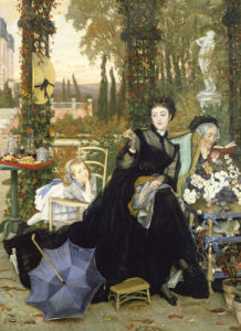 Une Veuve by James Jacques Joseph Tissot