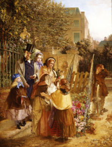 The Upset Flower Cart by W.A. Atkinson