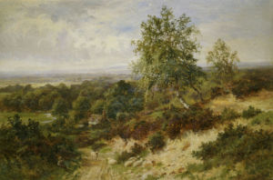 Helmbury Hill, Surrey by Walter Wallor Caffyn