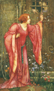Stone Walls Do Not A Prison Make, Nor Iron Bars A Cage' by Edward Reginald Frampton