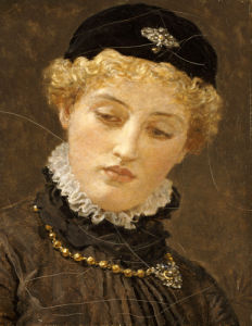 Ellen Terry (1847-1928) As Portia In The Merchant Of Venice, C. 1885 by Albert Moore