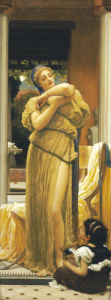 The Bracelet by Lord Frederic Leighton