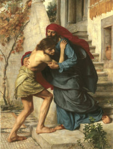 The Prodigal's Return, 1869 by Sir Edward John Poynter
