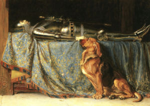 Requiescat, 1889 by Briton Riviere