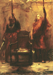 The Chieftain's Candlesticks by John Pettie