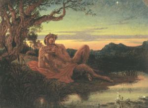 Evening by Sir Joseph Noel Paton