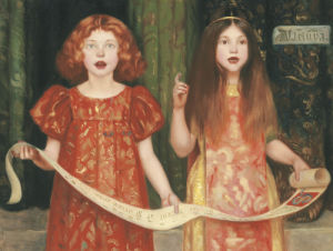 Alleluya by Thomas Cooper Gotch