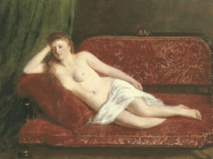 After The Bath, 1897 by William Powell Frith
