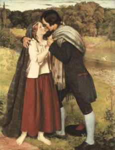 The Betrothal Of Robert Burns And Highland Mary, C. 1881 by James Archer