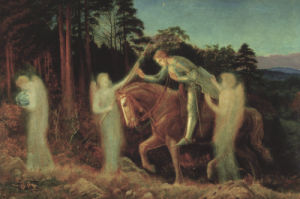Sir Galahad, 1892 by Arthur Hughes