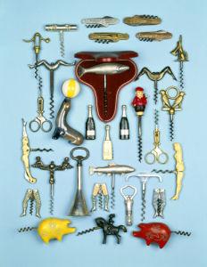 Vintage Novelty Corkscrews by Christie's Images