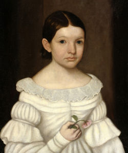 Portrait Of A Girl by Horace Bundy