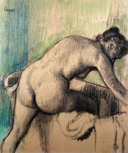 The Bath by Edgar Degas