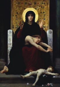 Vierge Consolatrice by Adolphe William Bouguereau