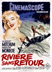 Riviere Sans Retour (River Of No Return) 1954 by Cinema Greats