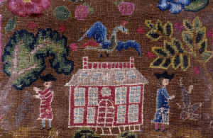 Pictorial Needlework Single Pocketbook by Christie's Images