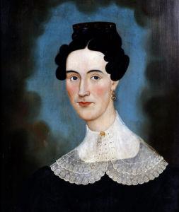 A Portrait Of Mrs Ellison by Ellison Finch
