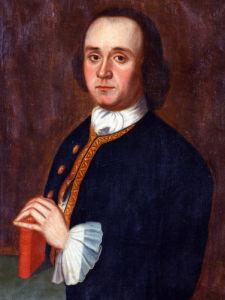 A Portrait Of A Gentleman by American School