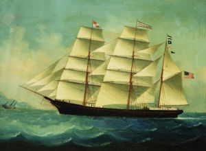 The American Clipper 'Tewksburylsweat' by Chinese School