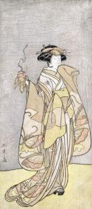 A Full-Length Portrait Of The Actor Ichikawa Monnosuke II by Katsukawa Shunsho