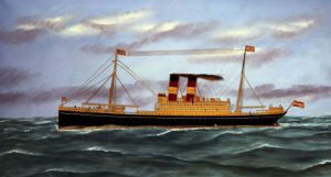 The S.S. Martha Washington by Thomas H. Willis