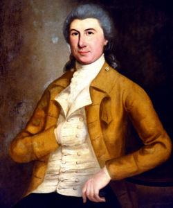Portrait Of Ezra Trumbull by Ralph Earl